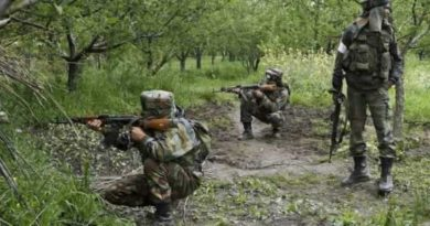 An encounter broke out between militants and the security forces in Jammu and Kashmir's Kulgam district early on Sunday, police said. Security forces launched a cordon and search operation in Sighanpora area in the south Kashmir district following inputs about the presence of terrorists in the area, a police official said. The search operation turned into an encounter after the terrorists fired upon a search party of the forces, who retaliated, he said. The exchange of fire is going on and further details were awaited, the official said.