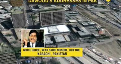 Where does Dawood Ibrahim live in Karachi Pakistan has three addresses