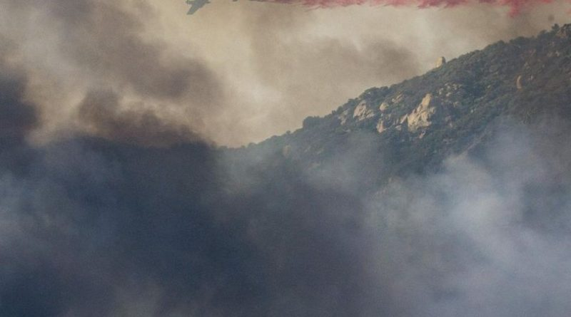 California Wildfire Traps Campers In National Forest