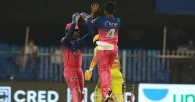 IPL 2020, RR vs CSK highlights