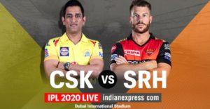 IPL 2020 LIVE SCORE, CSK vs SRH Match: Sunrisers Hyderabad clinch victory by 7 runs